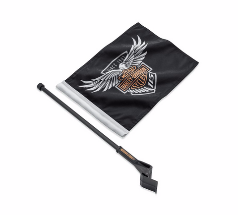 115th Anniversary Flag Kit - Tour-Pak Mount