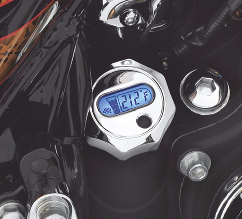 Oil Level and Temperature Dipstick with Lighted LCD Readout