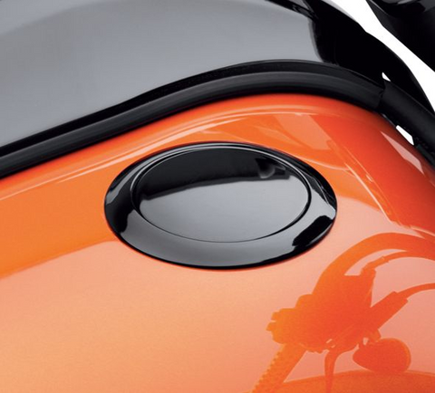 Flush-Mount Fuel Cap- Gloss Black