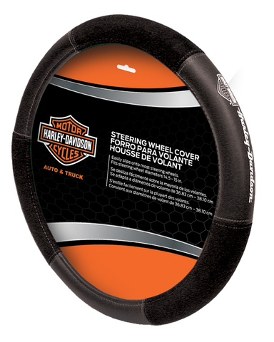 Speed Grip Steering Wheel Cover - Gray Bar & Shield