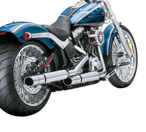 Screamin' Eagle® Street Cannon Slip-On Mufflers – Softail Shorty Dual
