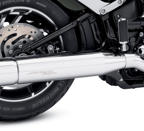 Chrome Muffler Shield