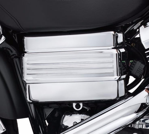 Dyna® Chrome Battery Cover