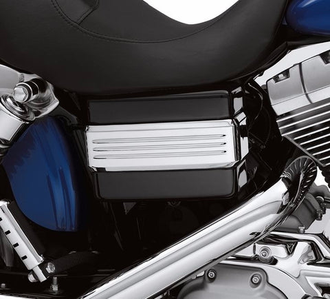 Dyna® Chrome Battery Cover Band