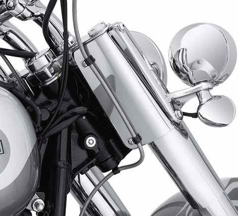 Chrome Fork Cover Side Panels