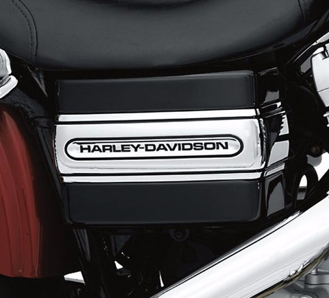 """Harley-Davidson®"" Script Battery Cover Band"