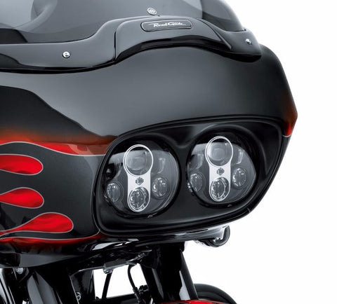 Daymaker LED Headlamp - Road Glide Gloss Black & Chrome