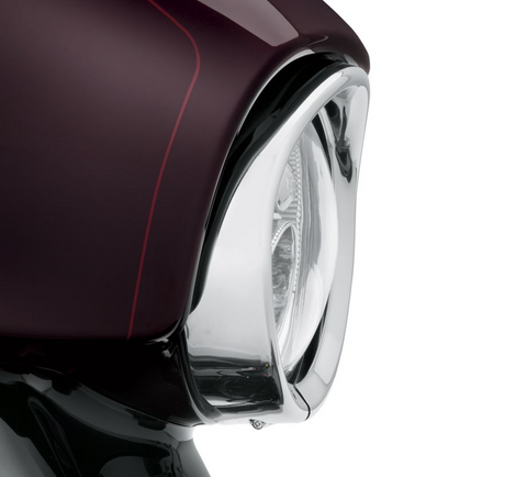 Visor Style Headlamp Trim Ring