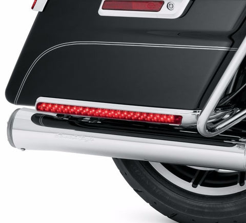 Electra Glo Saddlebag Side Marker Light Kit-Red Lens