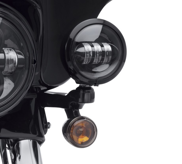 LED Auxiliary Lamps Black