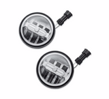 4 in. Daymaker Signature Reflector LED Auxiliary Lamps - Chrome