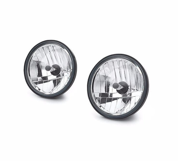 Clear Lens with Vertical Reflector Optics Auxiliary Lamp Bulb Kit