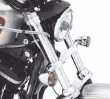 Front Directional Relocation Kit Chrome