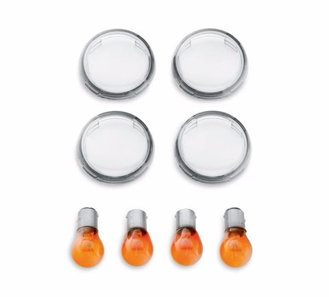 Turn Signal Lens Kit - Clear - Bullet Lens