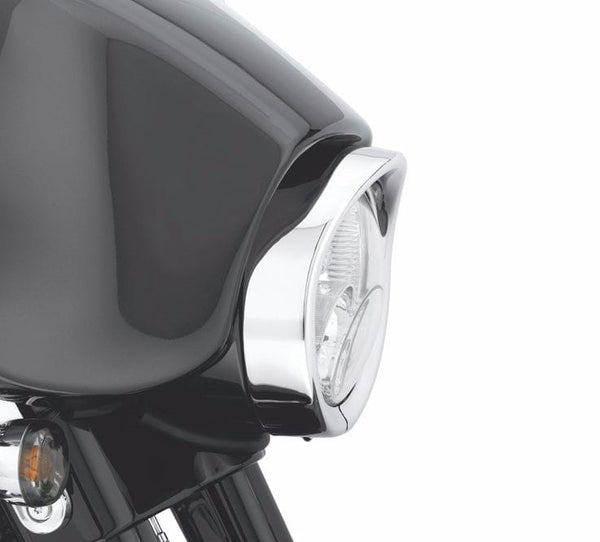 Visor Style Trim Ring Collection - Headlamp