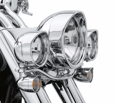 Custom LED Tail Lamp - Clear Lens with Chrome Reflector