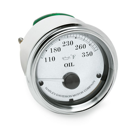 Fairing Mount Oil Temperature Gauge - Fahrenheit