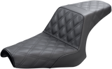Saddlemen Step-Up LS Seat (Front & Rear) Black