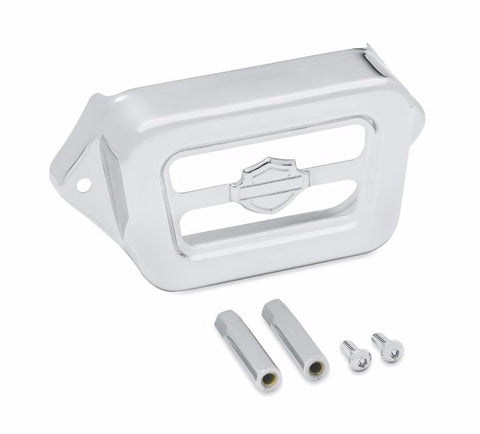 Chrome Voltage Regulator Cover '97-'08 Touring
