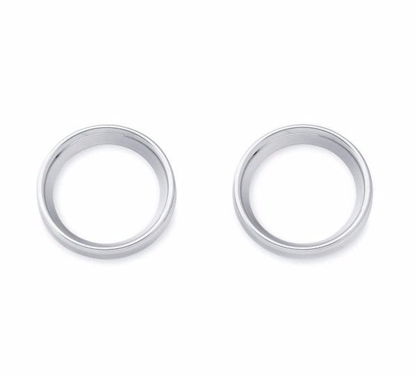 Chrome Instrument Gauge Bezel Cover Kit