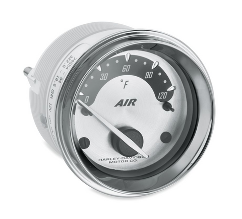 Air Temperature Gauge - Spun Aluminum Face