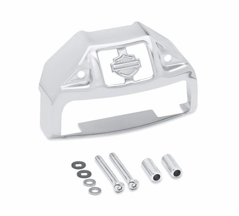 Chrome Rear Wheel Spacer Kit - Tapered Dyna