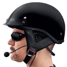 Boom!  Audio Half Helmet Music and Communications Headset