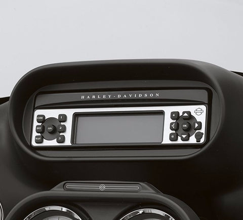 Bar & Shield Logo Radio Faceplate