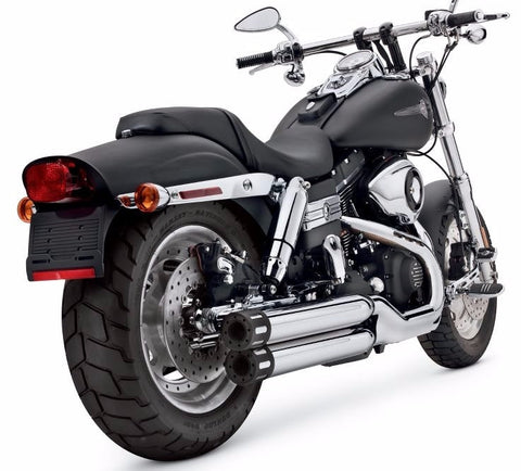 Screamin' Eagle Street Performance Slip-On Staggered Dual Mufflers