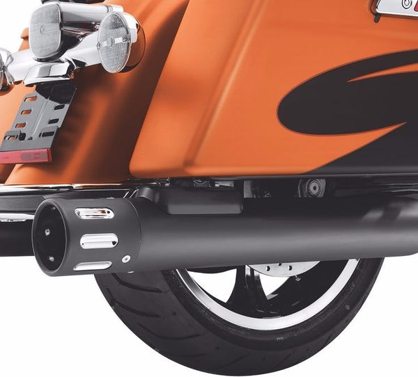 Black Muffler Bracket Cover Kit