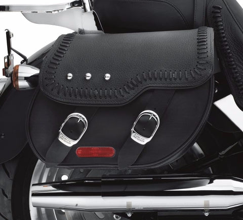 Leather Saddlebags for Fat Boy® Models