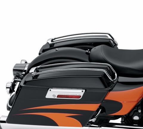 Air Wing Saddlebag Lid Rail Kit - Chrome