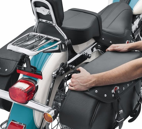 Heritage Classic Quick Detach Saddlebag Conversion Kit