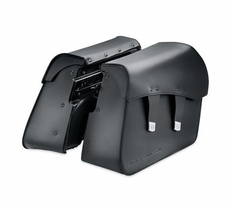 Detachable Leather Saddlebags