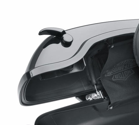 Gloss Black Saddlebag Latch Kit