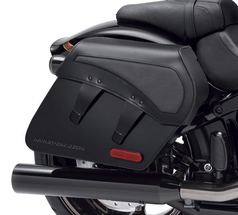 H-D Detachables Leather Saddlebags