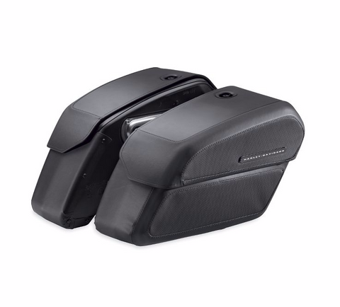 H-D Detachables Locking Saddlebags