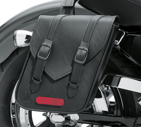 Black Standard Line Compact Throw-Over Saddlebags