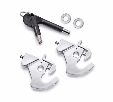 Locking Detachable Latch Kit - Chrome