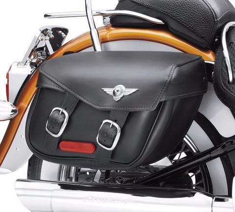 Softail® Leather Saddlebags - Fat Boy® Styling