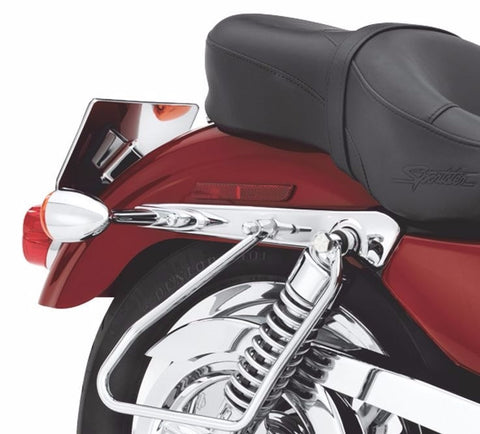 Chrome Saddlebag Supports '08-Later Dyna