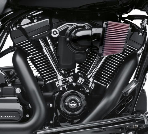 Gloss Black Engine Cover Kit – Milwaukee-Eight Powertrain