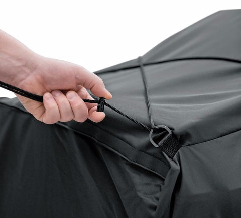 Indoor/Outdoor Motorcycle Cover Trike Orange/Black
