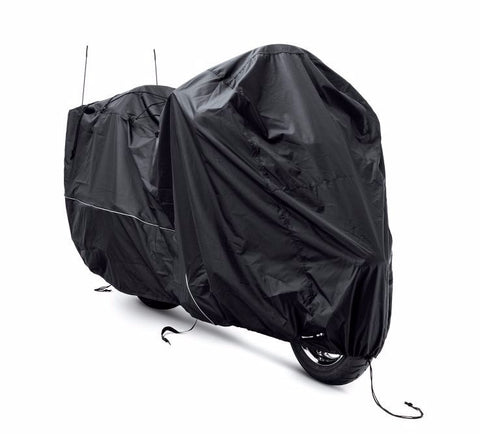 Indoor/Outdoor Motorcycle Cover Touring Black