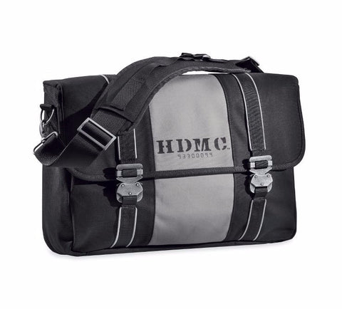 HDMC Messenger Bag - Black/Silver