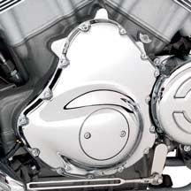 Chrome Hardware Kit - VRSC  Alternator Cover and Front Sprocket Cover
