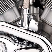 Chrome Hardware Kit - VRSC  Clutch Housing and Water Pump