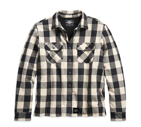 Men's Sherpa Lined Shirt Jacket