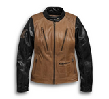 Women's Arterial Leather Jacket