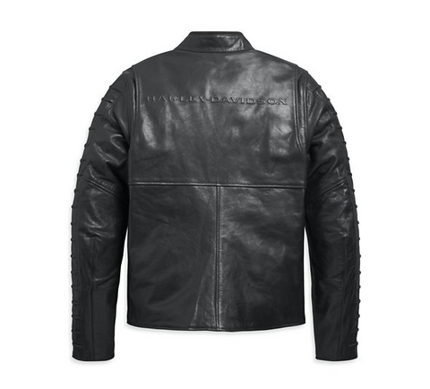 Men's Ozello Perforated Leather Jacket
